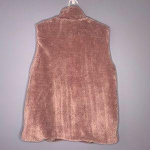 entro Jackets & Coats - Mauve soft vest